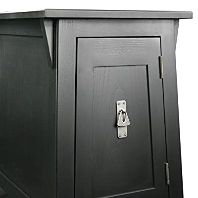 Leick Favorite Finds Mission Cabinet End Table