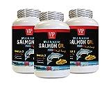 Weight Loss and Energy Pills for Women - Wild Alaskan Salmon Oil 2000MG - Full Range - Omega 3 Fatty acids for Fertility - 3 Bottles 540 Softgels