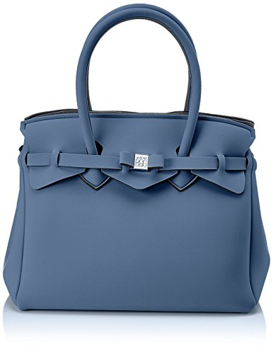Miss Save My Bag - Handbag Blu Woman (balena)