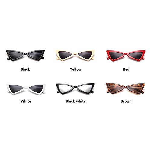 Non Retro proof Triangle intensity Sun Noir Glasses Cat Glasses Personality Eye MOD Series Style Hzjundasi Glare w0nYOvXOq
