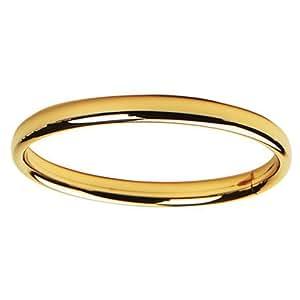 Elegant Baby 14 Karat Gold Bangle Bracelet Perfect for Baby Shower, Christening or Baptism Baby's First Bracelet in Gold (Discontinued by Manufacturer)
