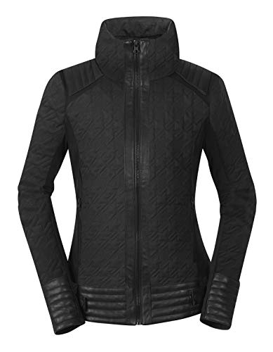 (Kerrits Eq Quilted Moto Jacket 2018 Black Size: Extra Small)