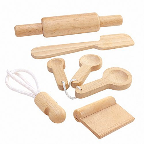 Plan Toys Wooden Baking Utensils Set 0345000