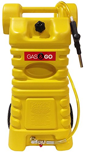 Gas Go Carts (Gas & Go GG-25YGC Poly Diesel Fuel Cart (25-Gallon), 1 Pack)