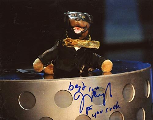 ROBERT SMIGEL - Triumph the Insult Comic Dog AUTOGRAPH Signed 8x10 Photo (Best Triumph The Insult Comic Dog)