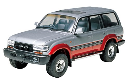 Tamiya Model Kit - Toyota Land Cruiser 80 Car - 1:24 Scale - 24107 - New (The Best Land Cruiser Model)