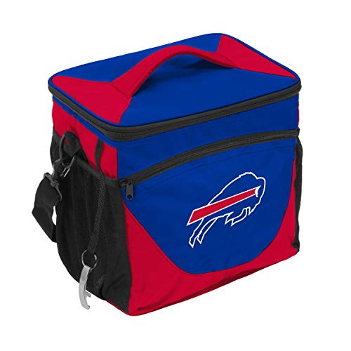 Logo Brands NFL Buffalo Bills 24 Can Cooler, One Size, Royal