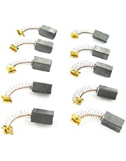 """uxcell 10pcs 1/2"""" x 5/17"""" x 1/4"""" Generic Electric Motor Brush Replacement"""