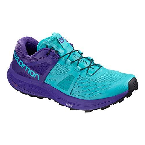 Bluebird Women's Running Salomon Pro AW18 Deep Shoes Blue Ultra EqFYwF1