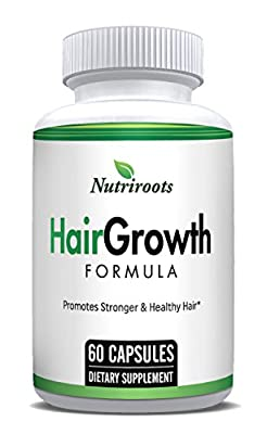 Natural Hair Loss Treatment For Men & Women - Stimulate Hair Growth - Prevent Hair Loss and Thinning - Fuller Thicker Healthy Hair With More Volume
