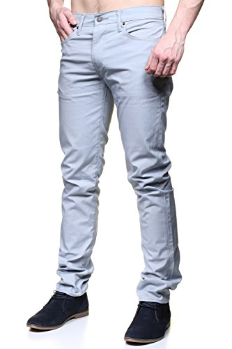 Levi's 511 Ash Perf Jeans Slim Grau