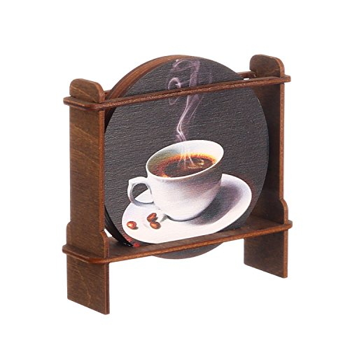 "Coasters ""a Cup of Black Coffee"""