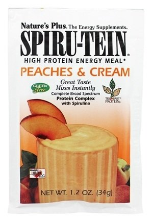 Nature's Plus - Spiru-Tein High Protein Energy Meal Peach...
