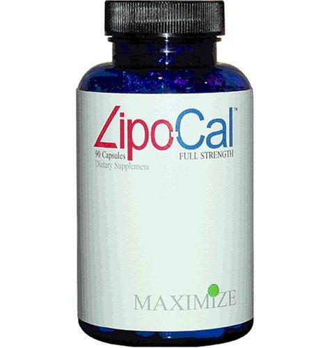 Lipo-Cal, Agrandir, Maximum International, 90 capsules