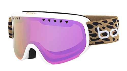 Bolle Winter Scarlett Anna Veith Signature Series 21696 Ski Goggles, Rose Gold