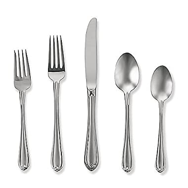 Gorham Melon Bud Frosted 45 Piece Flatware Set