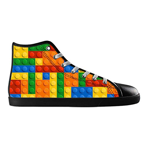 Dalliy Bunte Muster Mens Canvas shoes Schuhe Lace-up High-top Sneakers Segeltuchschuhe Leinwand-Schuh-Turnschuhe B