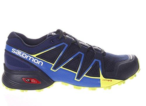 Salomon Herren Speedcross Vario 2 Trailrunning-Schuhe Blau / Gelb