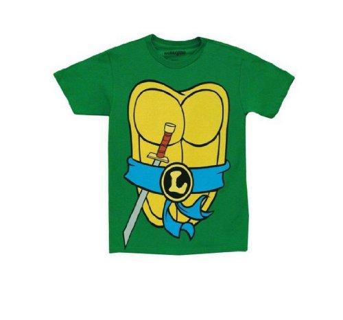 TMNT Teenage Mutant Ninja Turtles Leonardo Costume kids Toddler T-Shirt 2T