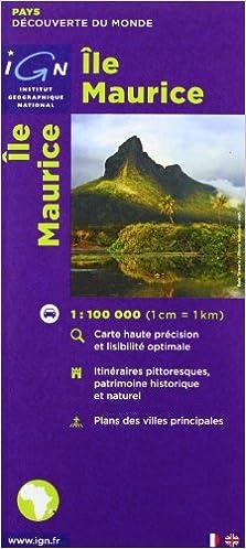 Carte routière : Île Maurice Pays et Villes de France: Amazon.de