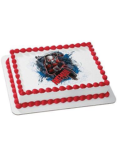 Ant Man Quarter Sheet Edible Cake Topper -