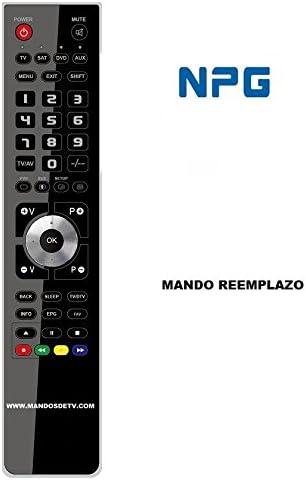 Mando TV NPG NLD1966B: Amazon.es: Electrónica