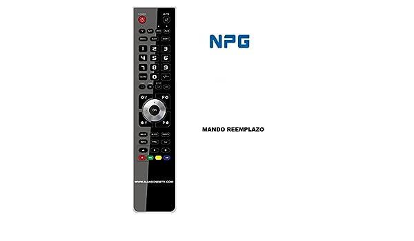 Mando TV NPG RC-50-B: Amazon.es: Electrónica