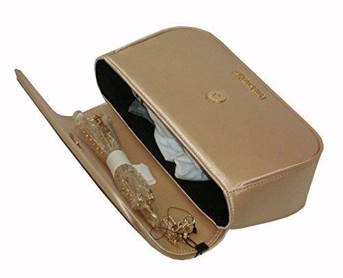 Borsa da sera love moschino linea satin pochette JC4318PP05 GOLD