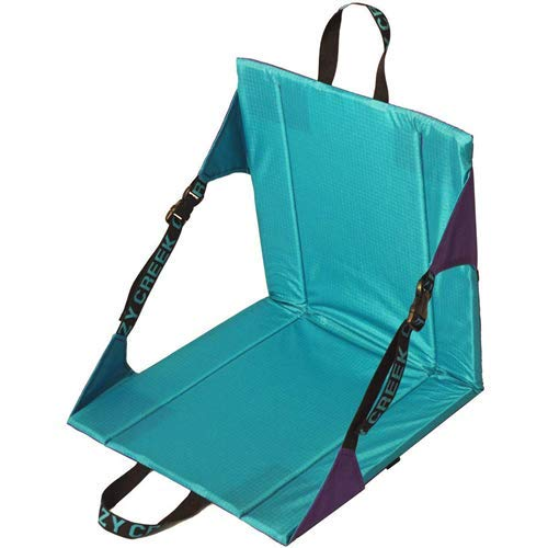 (Crazy Creek Original Chair - The Original Lightweight Padded Folding Chair - Purple/Teal)