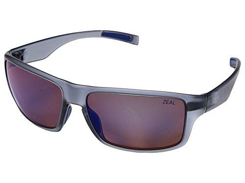 35afe9da6e0 Zeal Optics Unisex Incline Matte Smoke W Polarized Horizon Blue Lens One  Size