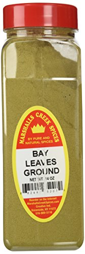 Marshalls Creek Spices X-Large Size Bay Leaves, Ground, 14 Ounces by Marshall's Creek Spices