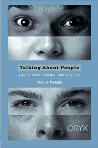 Book Talking About People: A Guide to Fair and Accurate Language by Rosalie Maggio (1997-10-09)
