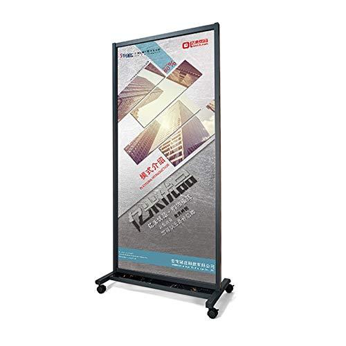AJZGF Soporte de exhibición del Cartel Marco de Publicidad ...