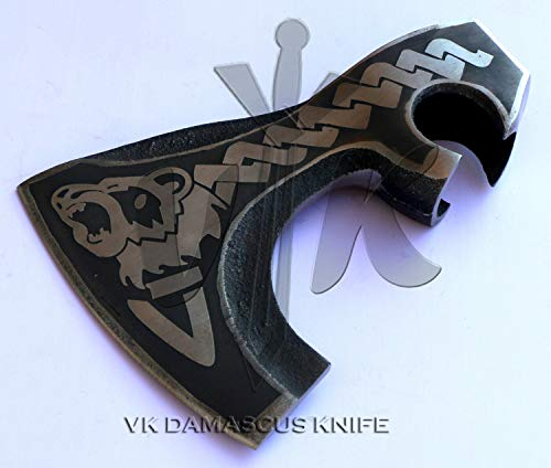 vk damascus knife vk4092 Handmade Carbon Steel (1095) Axe Hatchet Head only