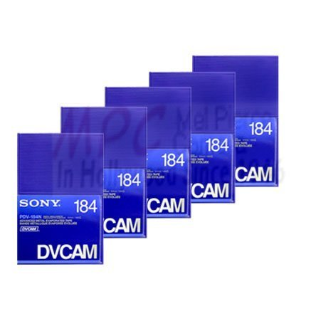 Sony PDV-184N Dvcam 184 Min (Pack of 5) by Sony
