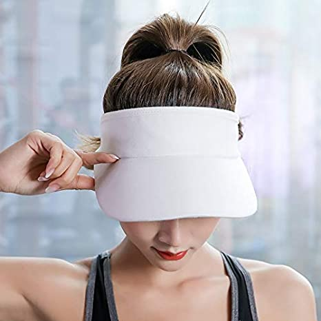 Thicker Sweatband Adjustable Sun Hat Caps Sun Visors for Women and Men