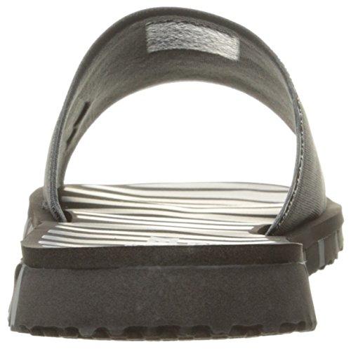 Skechers Rendimiento Go Flex Dependen de la sandalia Negro Gris