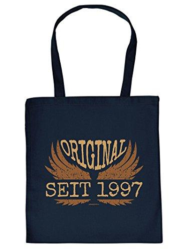 ORIGINAL SEIT 1997 :Tote Bag Henkeltasche. Beutel mit Aufdruck. Tragetasche, Must-have, Stofftasche, Geschenkidee