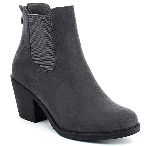 Picture of WestCoast Low Heel Over The Knee Boots Women's Stretch Back Side Zipper Long Boots