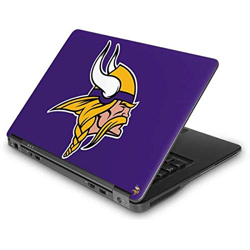 Skinit Minnesota Vikings Large Logo Latitude E7440 Skin - Officially Licensed NFL Laptop Decal - Ultra Thin, Lightweight Vinyl Decal Protection