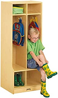 product image for Jonti-Craft 2 Section Coat Locker with Step
