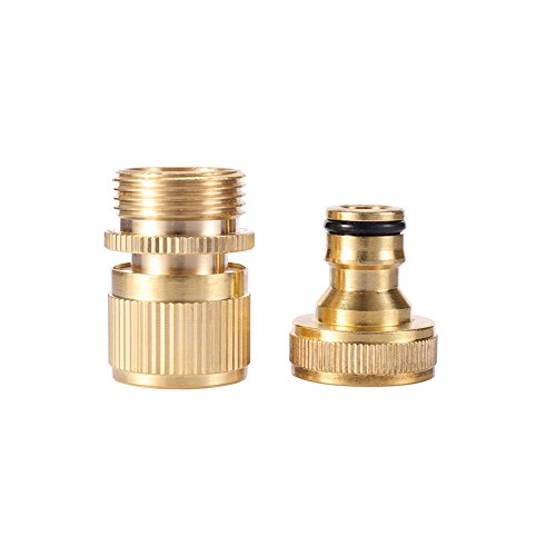 Buy quick disconnect water hose fittings brass
