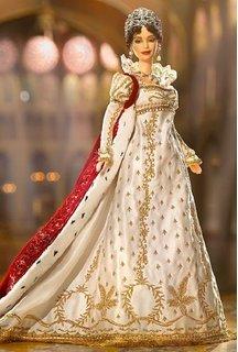 Empress Josephine Barbie (Ermine Robe)