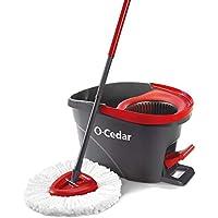 O-Cedar EasyWring Microfiber Spin Mop Bucket Floor...