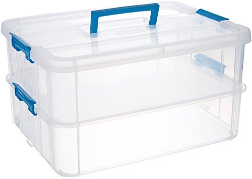 plastic storage bins with handles - 1