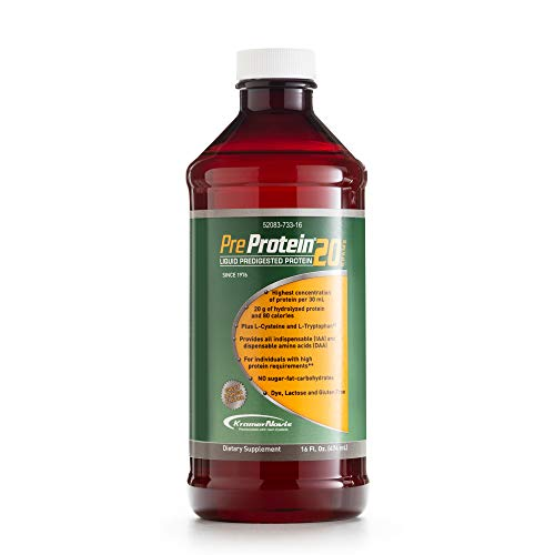 Pre-Protein Liquid Predigested Protein Sugar Free Mango Flavor - 16 oz. Bottle