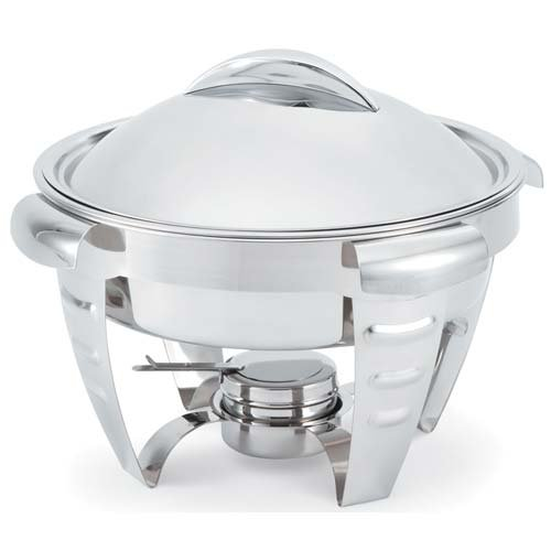 Vollrath 49522 Maximillian Chafer - Round, 6 Qt. - Round Capacity Chafer
