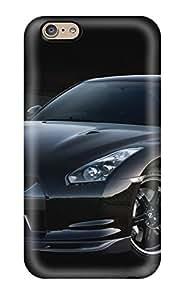 EVJdSgF4507EaSdi Case Cover Protector For Iphone 6 Cars Nissan Gtr Black Case