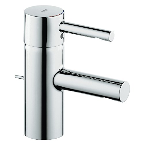 (Essence New Single-Handle Single-Hole Low Arc Bathroom Faucet)