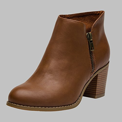 Pictures of Luoika Plus Size Wide Width Ankle BootsWomen 2